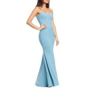 Dress the Population Jodi Gown in Sea Breeze